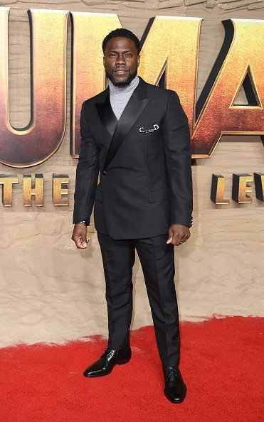 """Kevin Hart attends the """"Jumanji: The Next Level"""" UK Film Premiere at BFI Southbank in London, England 