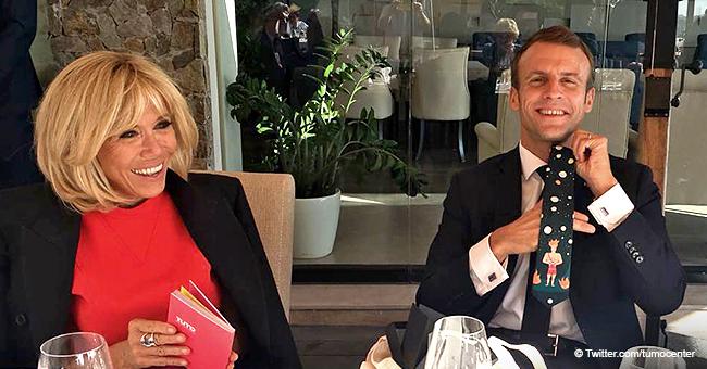 """Vacances au ski de Macron : les véritables détails de leur week-end sont dévoilés après une fausse photo """"luxueuse"""""""