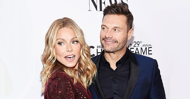 Kelly Ripa & Ryan Seacrest Dress up as 'The Addams Family' for the Show's Halloween Episode