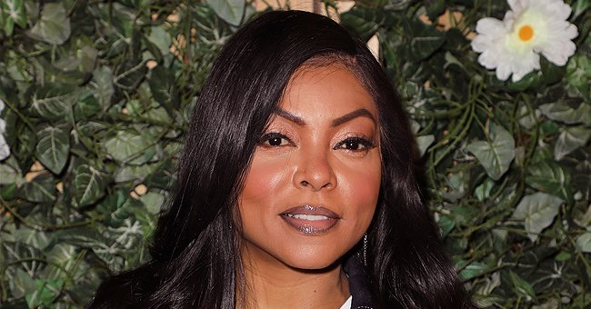 Taraji P Henson Flaunts Her Natural Beauty Posing Makeup-Free with a New Curly Haircut (Photo)