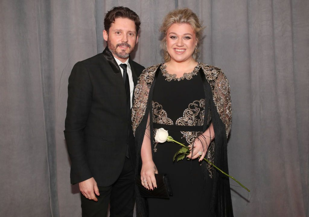 Brandon Blackstock and Kelly Clarkson at the 60th Annual GRAMMY Awards in 2018 in New York City | Source: Getty Images