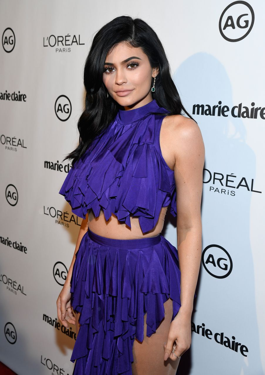 Kylie Jenner during Marie Claire's Image Maker Awards 2017 at Catch LA on January 10, 2017 in West Hollywood, California. | Source: Getty Images