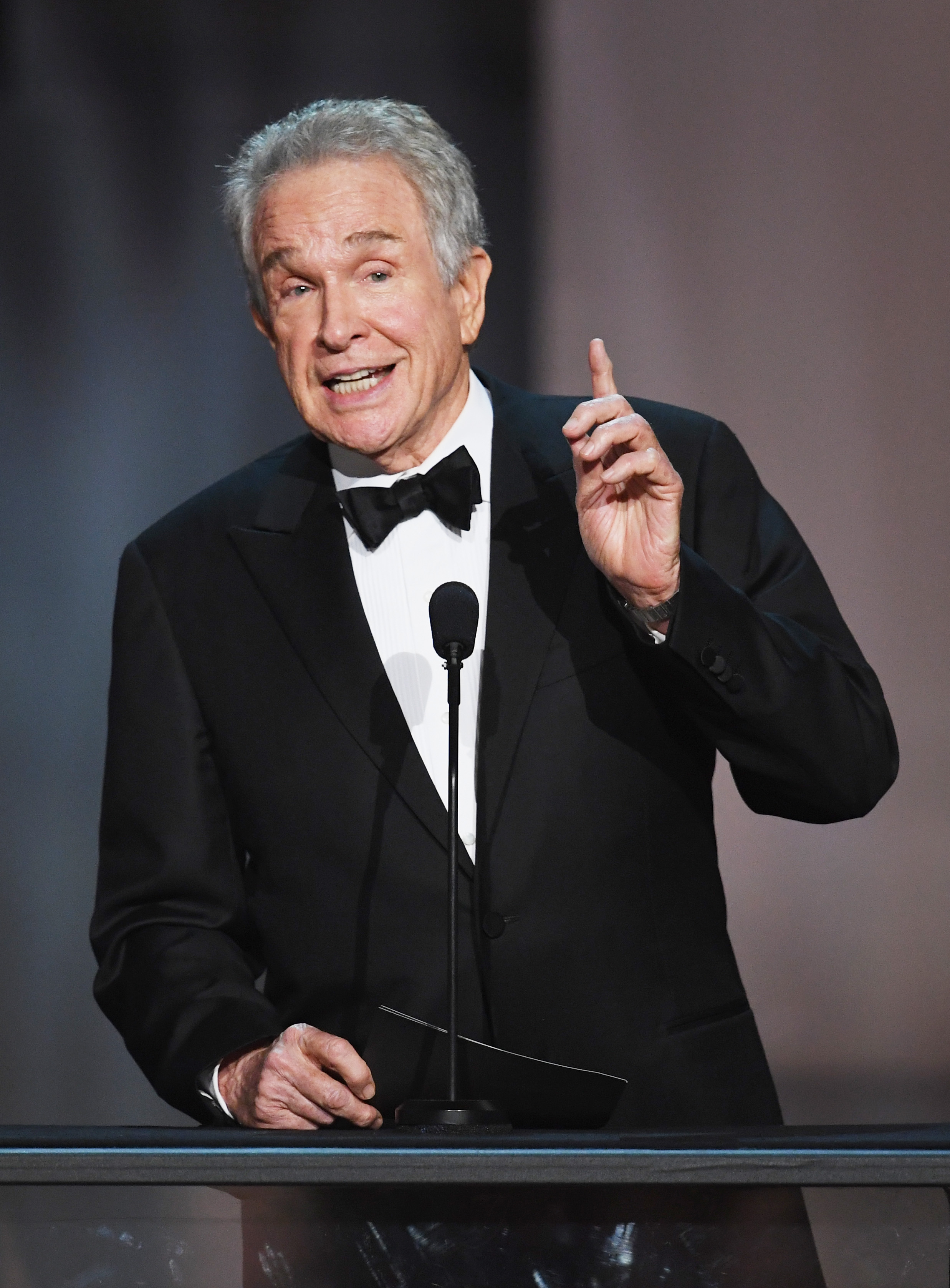 Warren Beatty onstage during the 90th Annual Academy Awards at the Dolby Theatre at Hollywood & Highland Center on March 4, 2018 in Hollywood, California | Photo: Getty Images