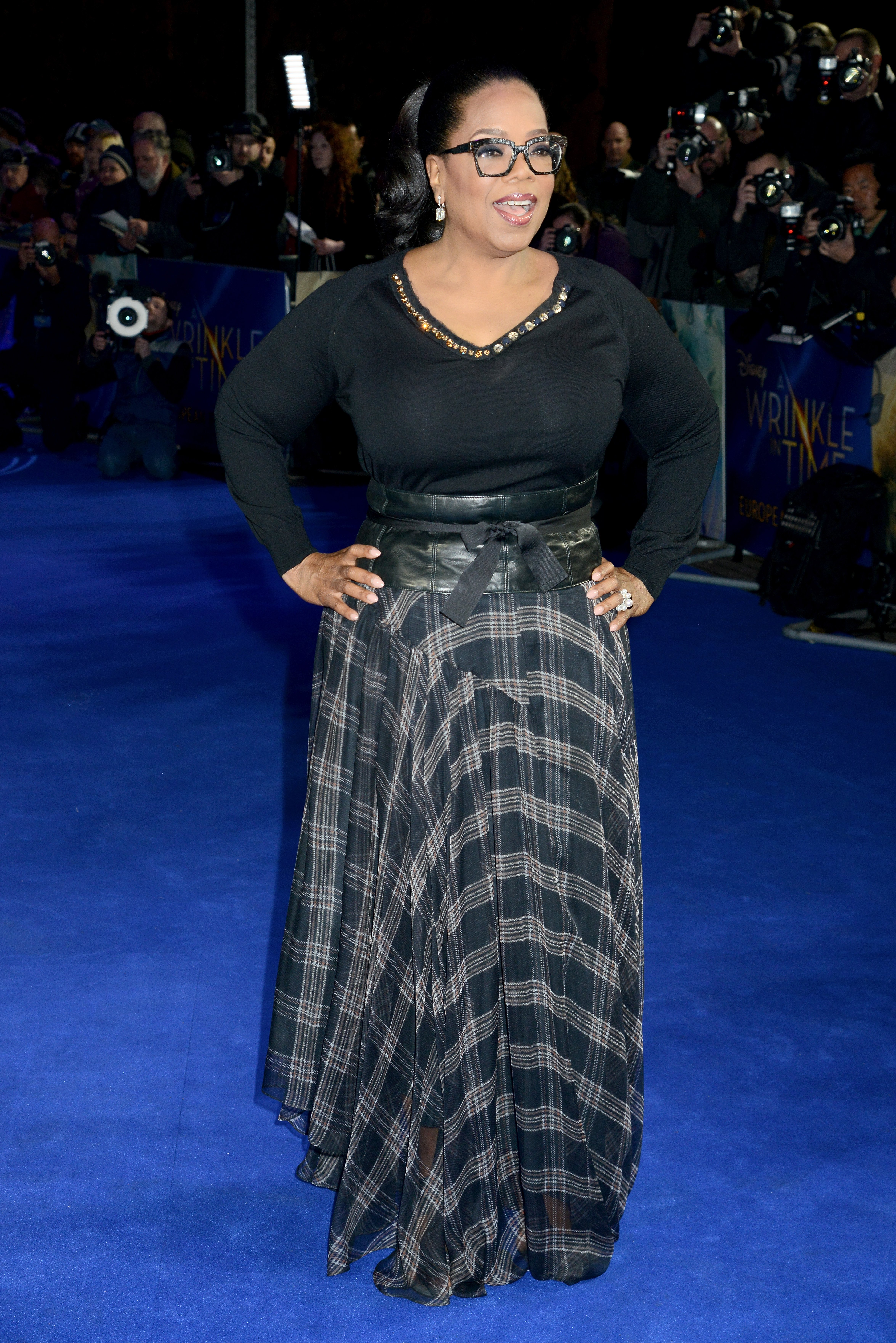 Oprah Winfrey attends the European Premiere of 'A Wrinkle In Time' at BFI IMAX on March 13, 2018 in London, England   Photo: Getty Images