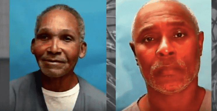 A screenshot of photos of wrongly convicted Clifford Williams and his nephew Nathan Myers. | Source: Youtube/News4JAX