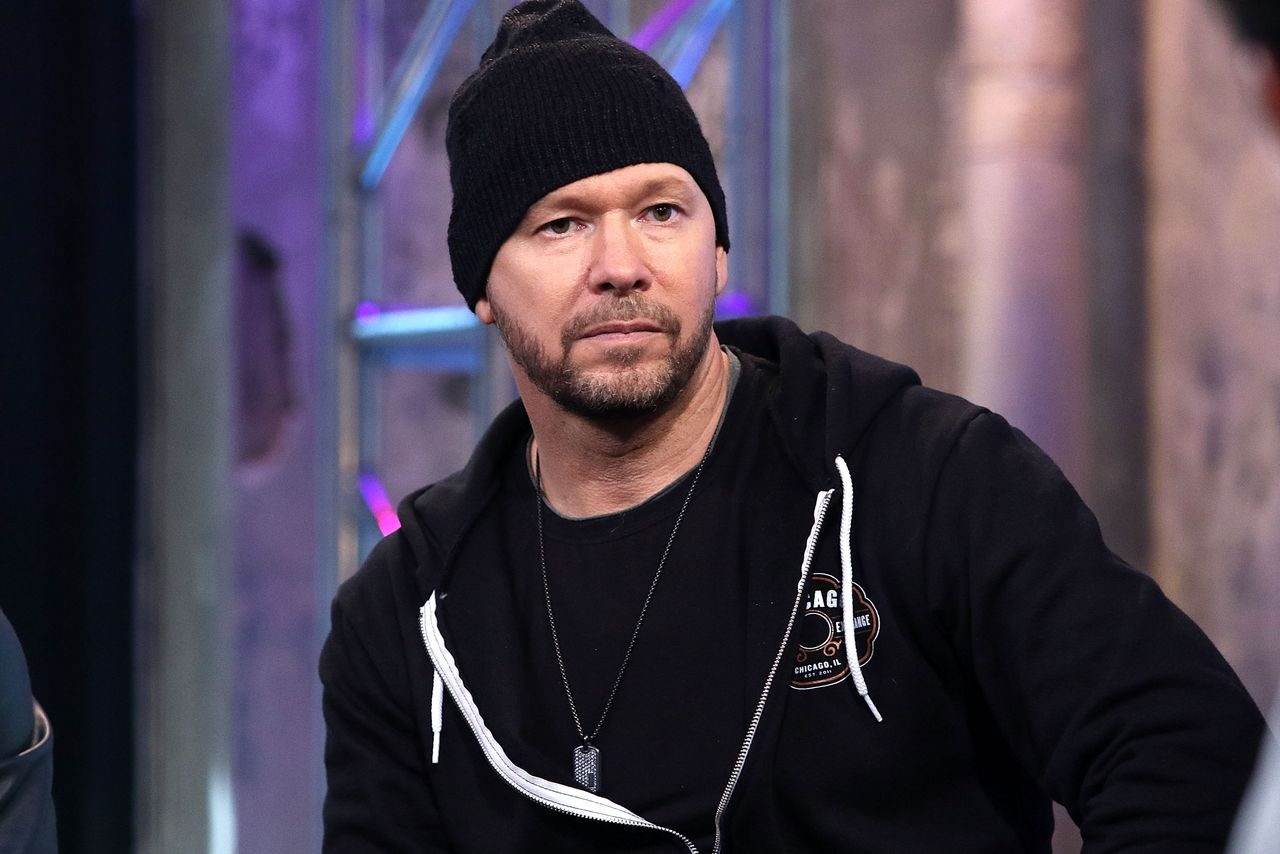 "Donnie Wahlberg of New Kids on the Block attends AOL Build Speaker Series to discuss ""Rock this Boat: New Kids on the Block"" Season 2 at AOL Studios In New York on June 9, 2016 in New York City 