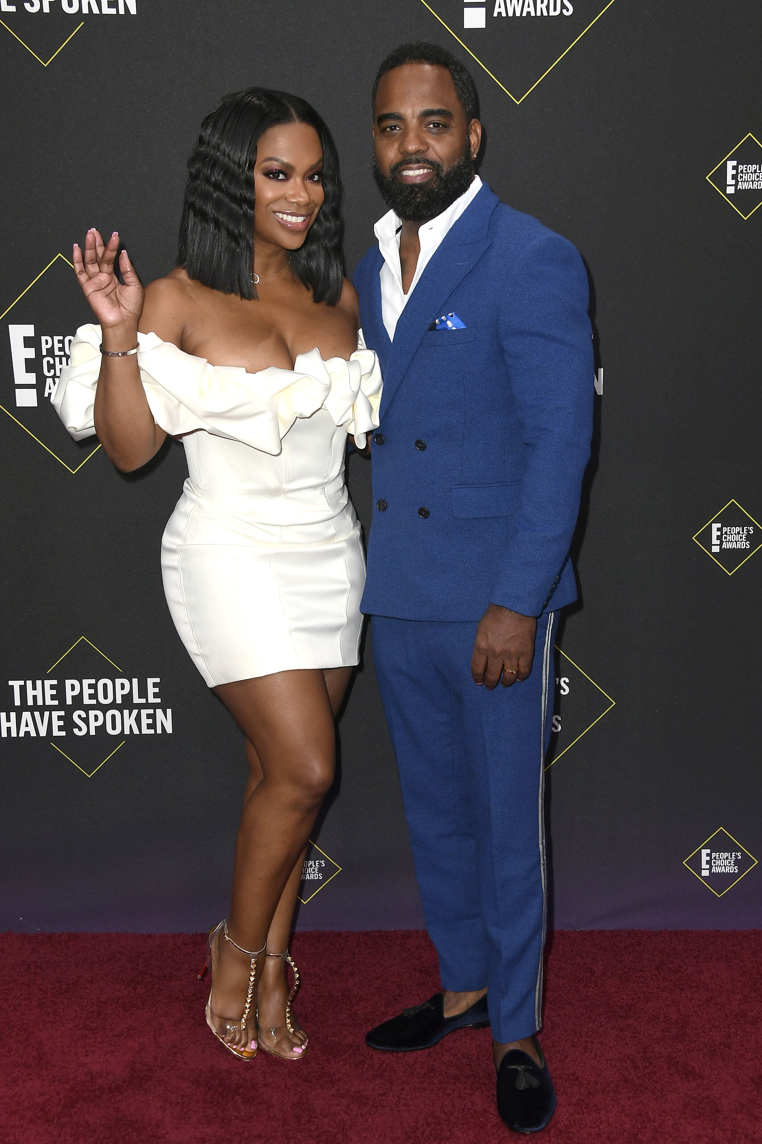 Kandi Burruss and Todd Tucker attend the E! People's Choice Awards 2019 | Source: Getty Images/GlobalImagesUkraine