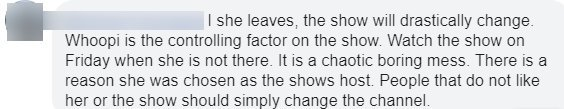Fans comment on Whoopi Goldberg's possible departure from The View | Photo: Facebook/USA TODAY Life 1