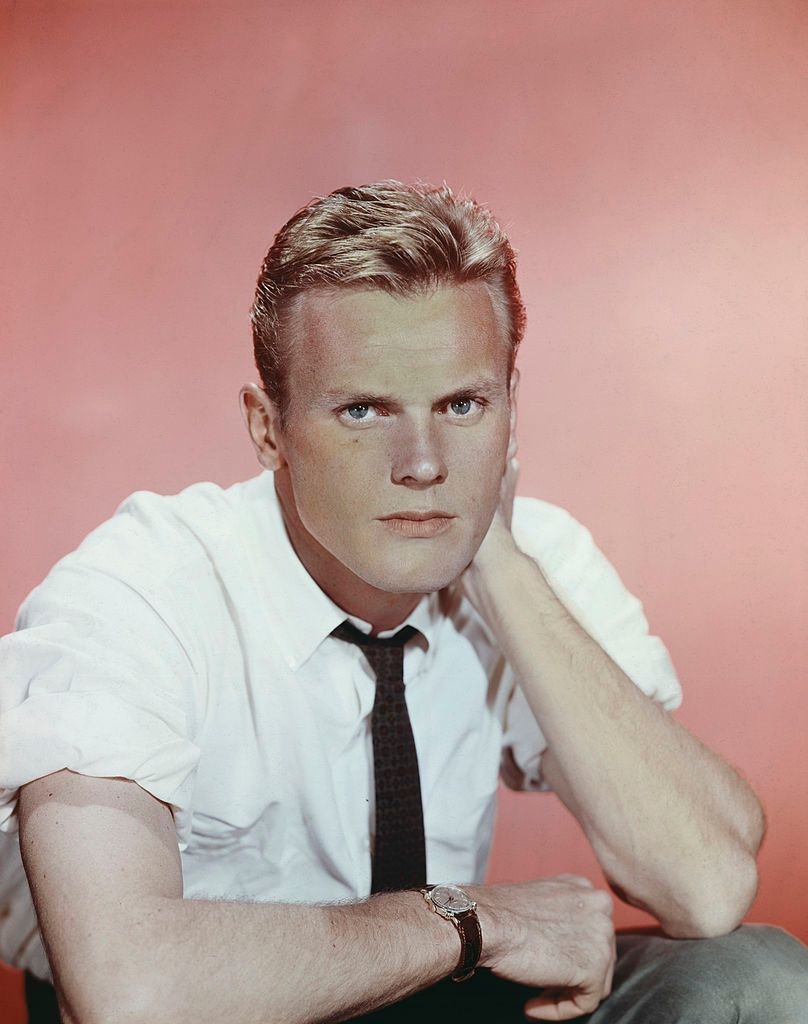 A photo of Tab Hunter in 1955.   Photo: Getty Images