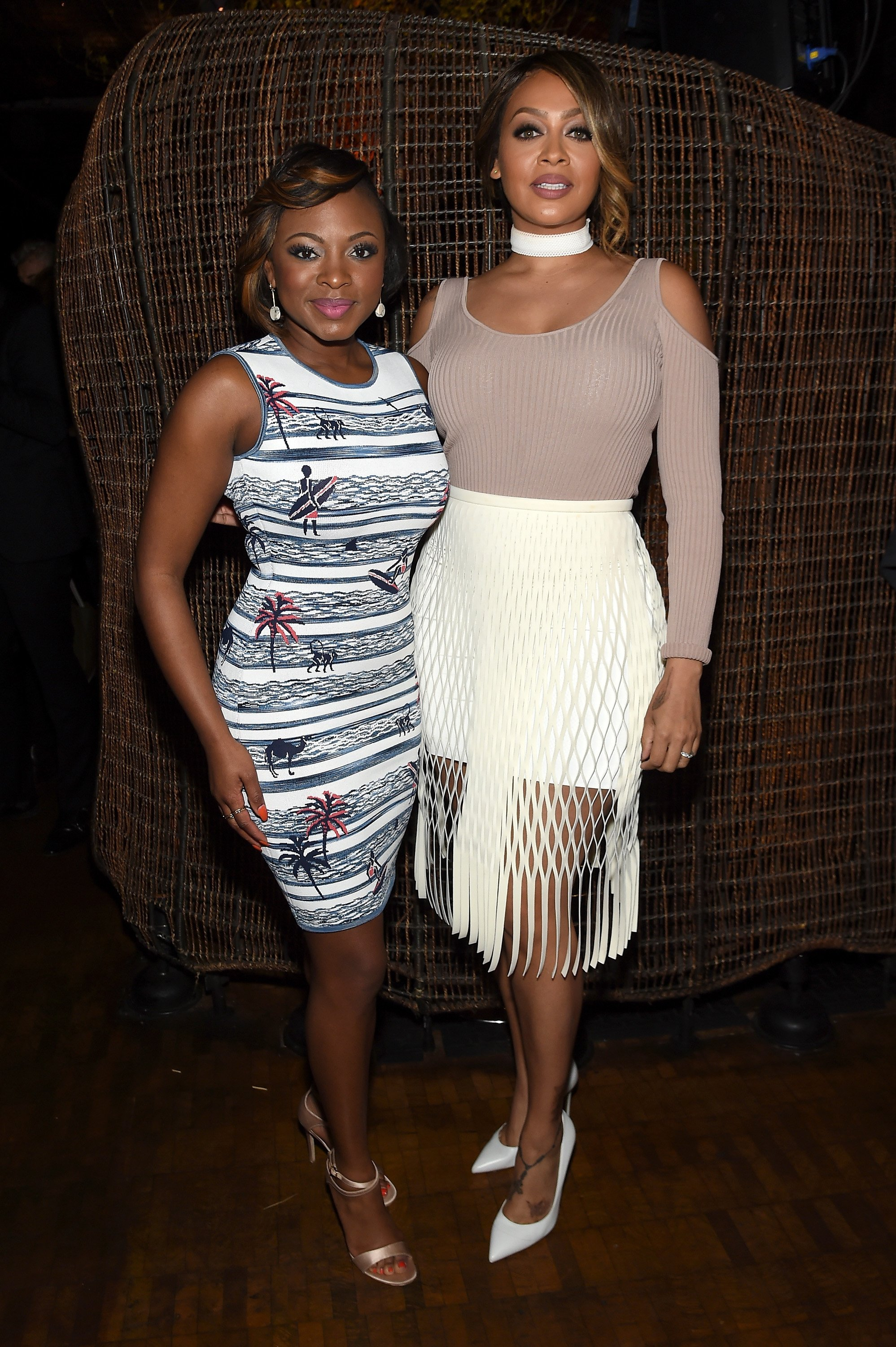 "Naturi Naughton and La La Anthony at the after party for the New York premiere of ""The Girlfriend Experience"" on March 30, 2016 in New York City l Source: Getty Images"