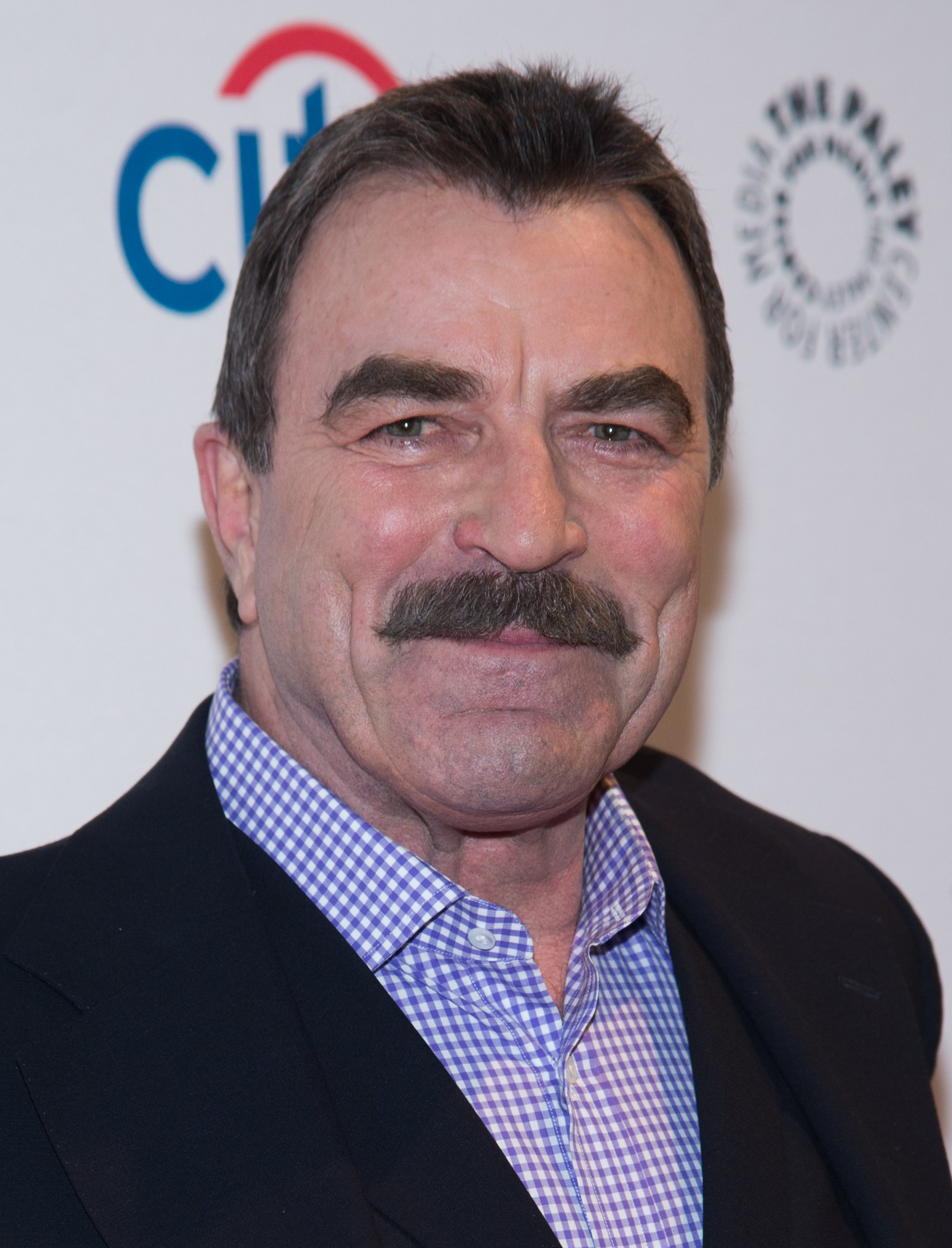 """Tom Selleck attends the 2nd Annual Paleyfest of """"Blue Bloods"""" in New York on October 18, 2014 
