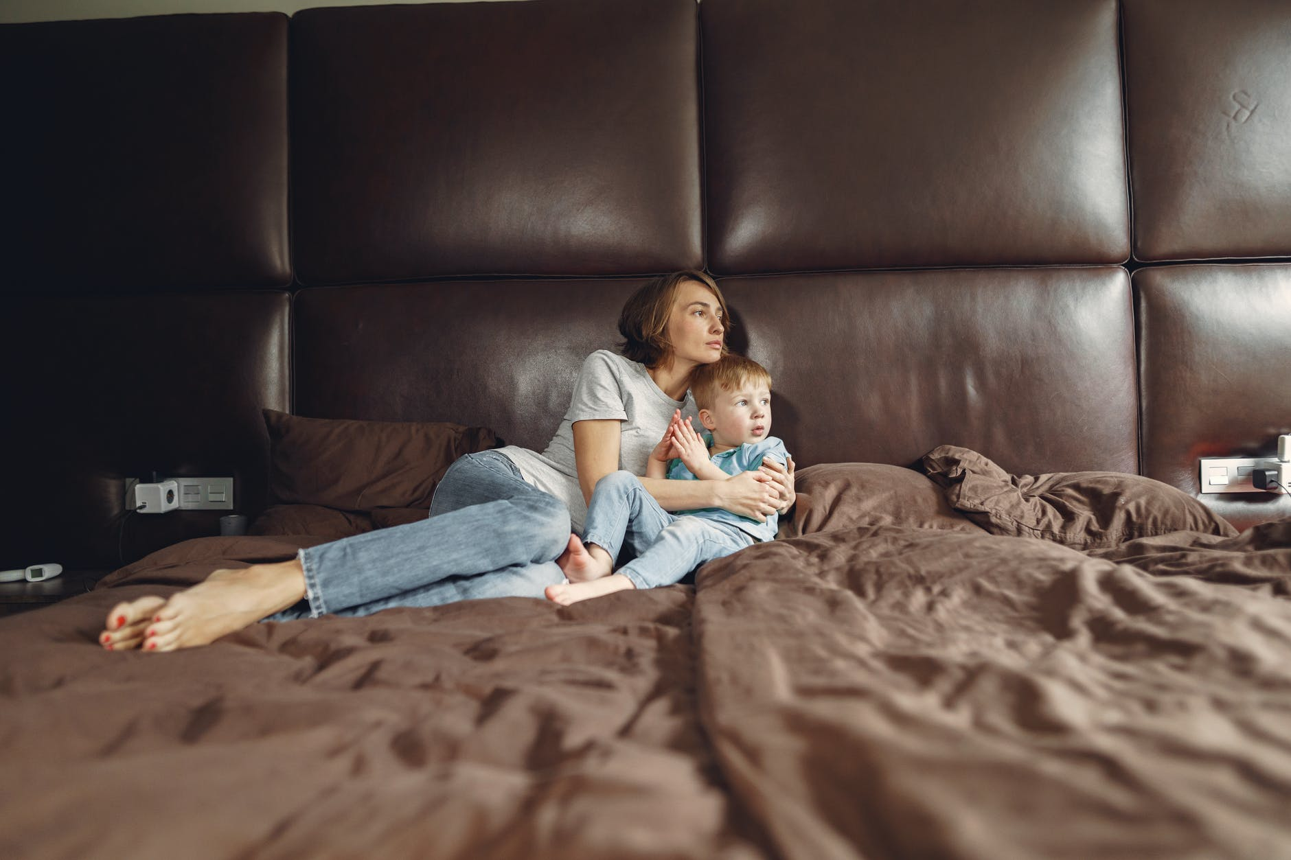 I was reunited with my son after she told me to come and get him   Source: Pexels