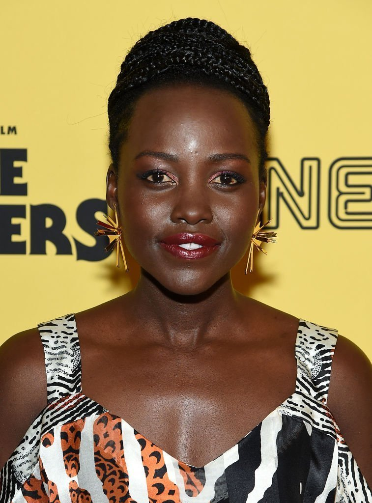 """Lupita Nyong'o attends the New York premiere of """"Little Monsters"""" at AMC Lincoln Square Theater 