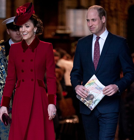 Prince William and Kate Middleton at the Commonwealth Day Service 2020 at Westminster Abbey on March 9, 2020 in London, England. | Photo: Getty Images