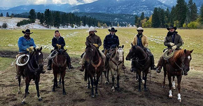 'Yellowstone' Star Cole Hauser Shares behind-the-Scenes Moment from the Set of Season 4