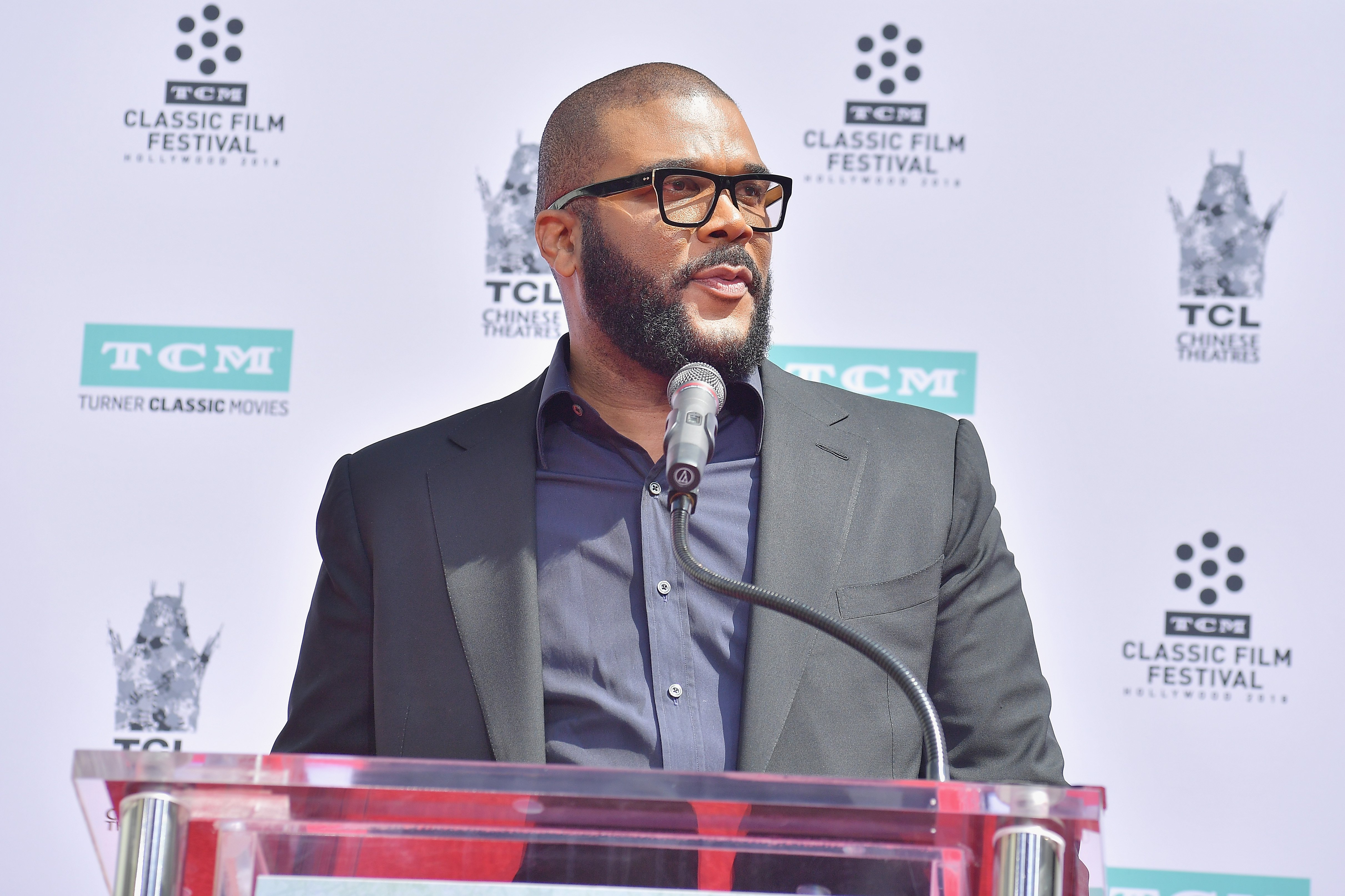 Tyler Perry at the 2018 TCM Classic Film Festival in Hollywood. | Photo: Getty Images