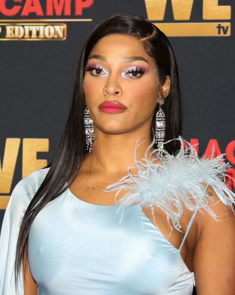 "Joseline Hernandez attends the premiere of WE tv's ""Marriage Boot Camp: Hip Hop Edition"" on February 04, 2020. 
