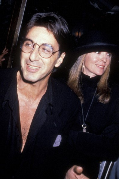 """Al Pacino and Diane Keaton at the premiere party for """"Sea of Love"""" on September 12, 1989 