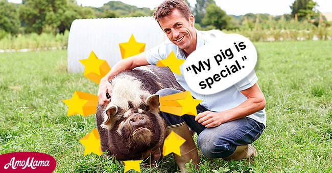 This farmer had a very lucky pig. | Photo: Shutterstock