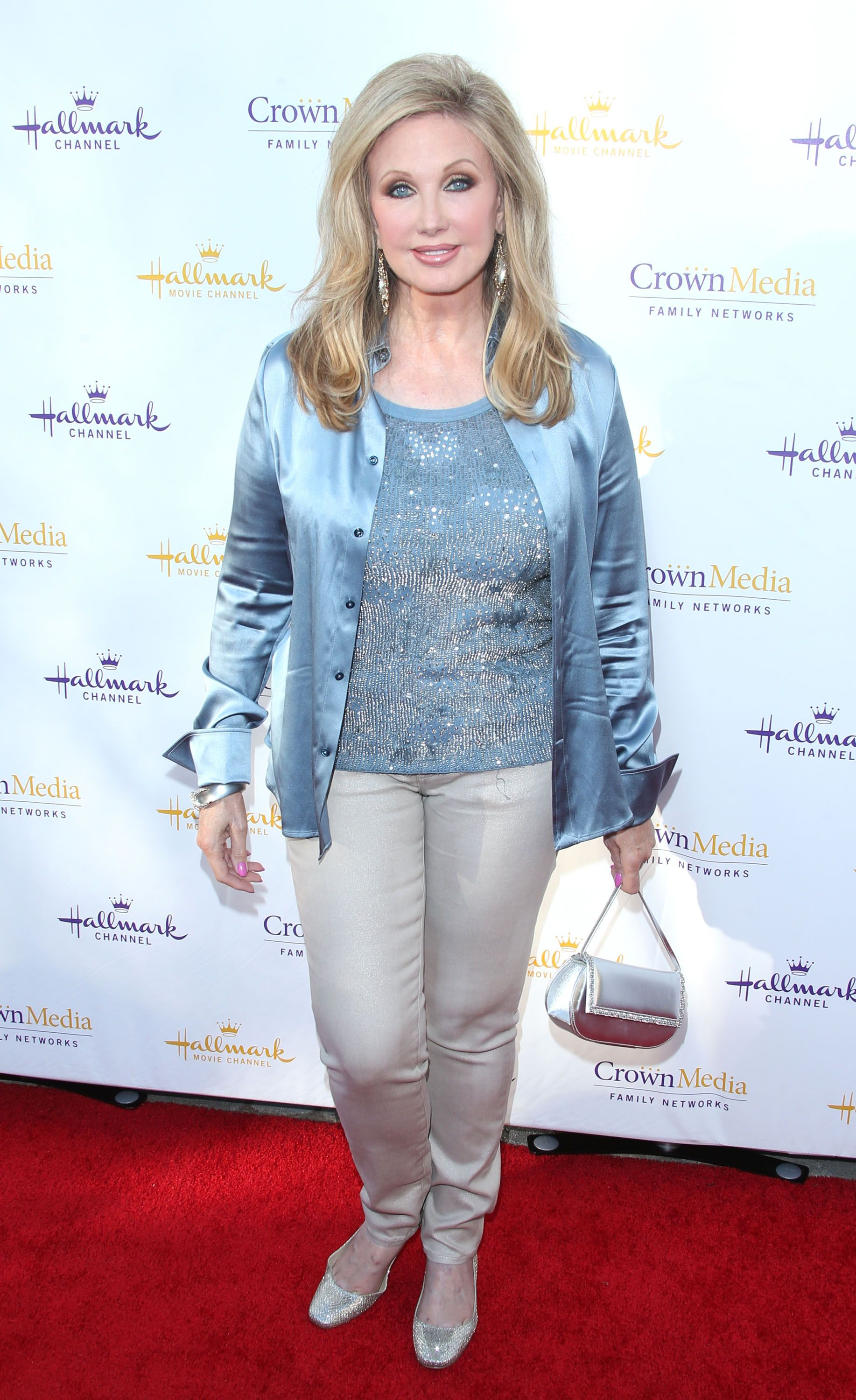 Morgan Fairchild attends the Hallmark Channel & Hallmark Movie Channel's 2014 Summer TCA Party on July 8, 2014 in Beverly Hills, California. | Source: Getty Images