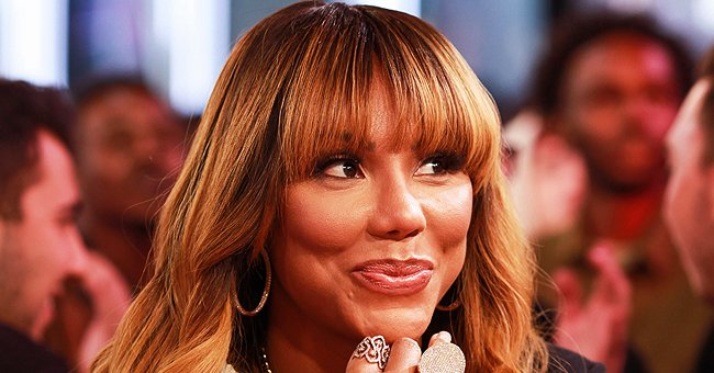 Tamar Braxton Calls David Adefeso's Mom Mother-In-Law and Shows Ring on Her Left Hand in a Post