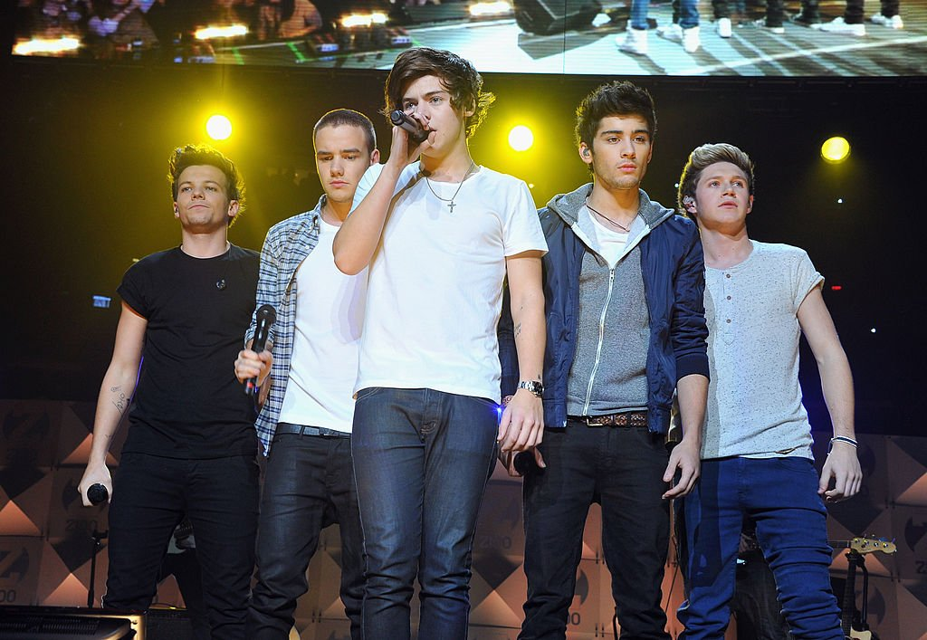 One Direction performs onstage during the Z100 Jingle Ball 2012 at the Madison Square Garden in New York. | Photo: Getty Images