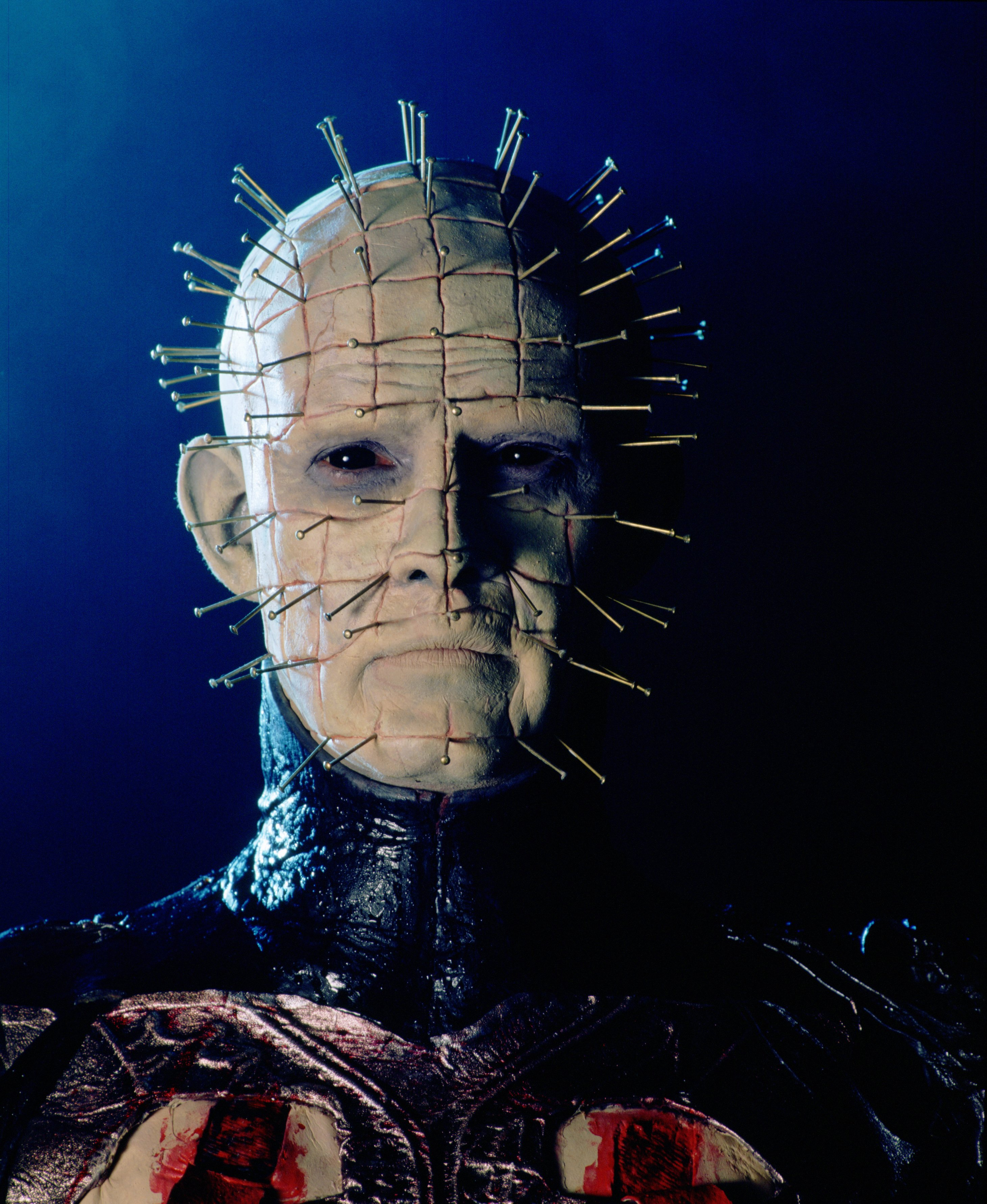 """Doug Bradley as his character Pinhead in """"Hellraiser"""" in 1987. 