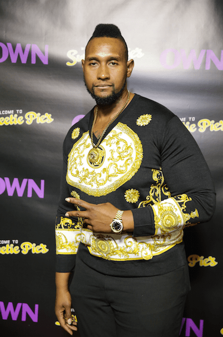 "Tim Norman at the ""Welcome to Sweetie Pies"" premiere at Taboo 2 Bistro & Bar on November 20, 2015 in Atlanta, Georgia. 