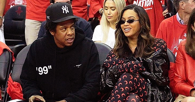 Beyoncé Flaunts New Brunette Locks in Catsuit at NBA Game Date Night