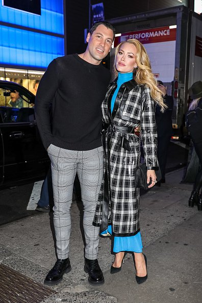 Maksim Chmerkovskiy and Peta Murgatroyd at 'Good Morning America' on March 10, 2020 | Photo: Getty Images