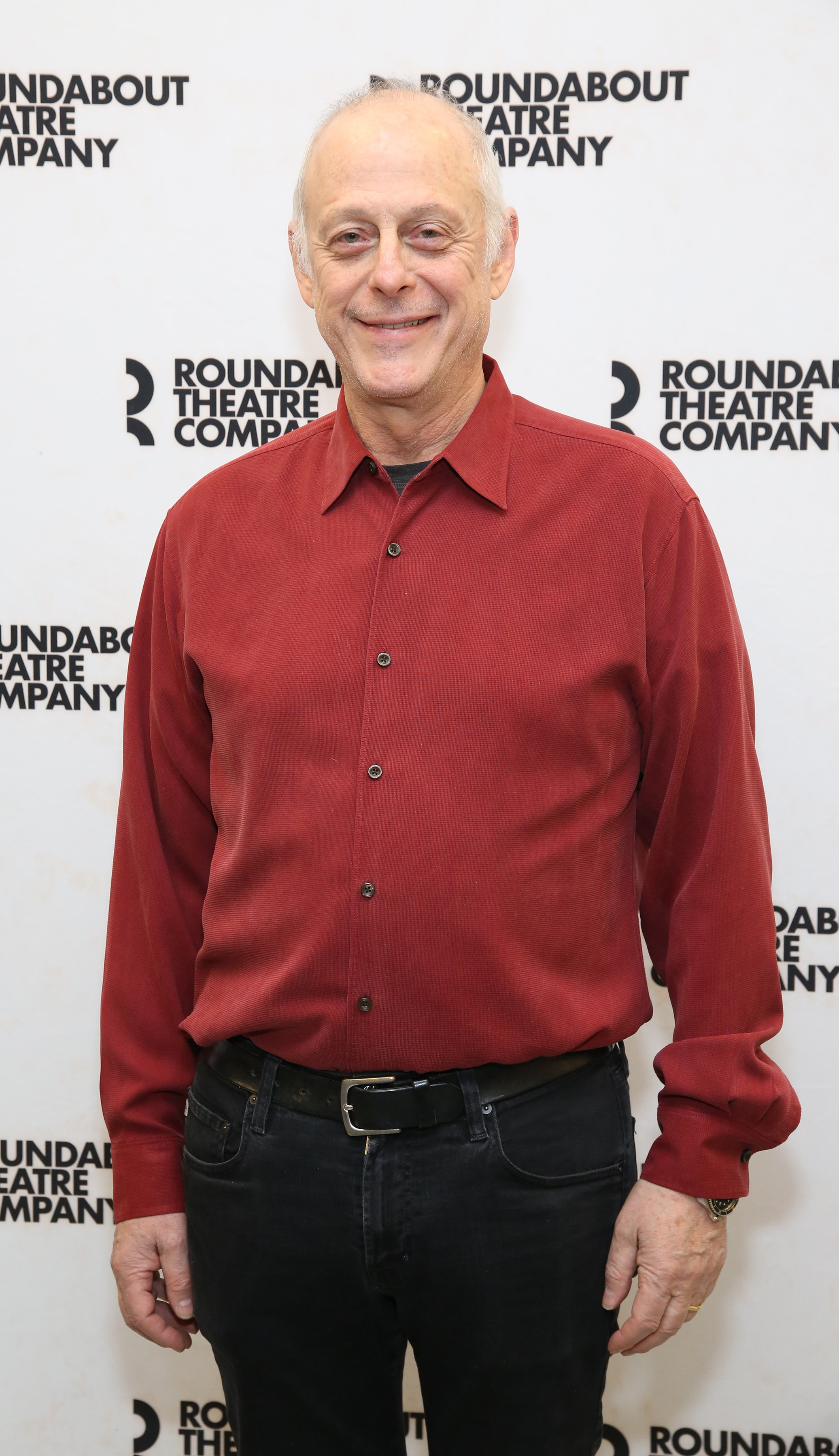 """Mark Blum attends the Meet & Greet for the cast of """"Amy and the Orphans"""" at the Roundabout Theatre rehearsal hall on January 10, 2018. 