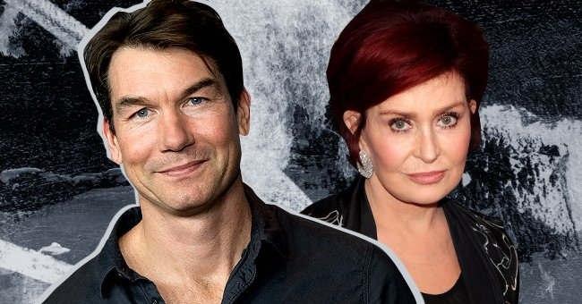 Jerry O'Connell on the left and Sharon Osbourne on the right | Photo: Shutterstock | Getty Images