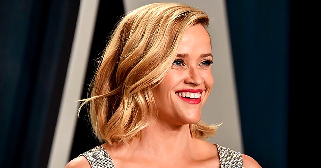 Reese Witherspoon's 8-Year-Old Son Tennessee Hangs Out with His Furry Best Friend Major — See the Cute Photo