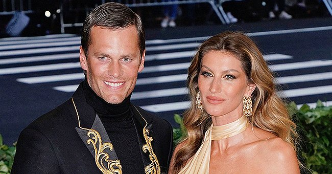 Tom Brady's Daughter Vivian Looks like Mom Gisele Bündchen in a New Pic Cuddled up Next to Dad