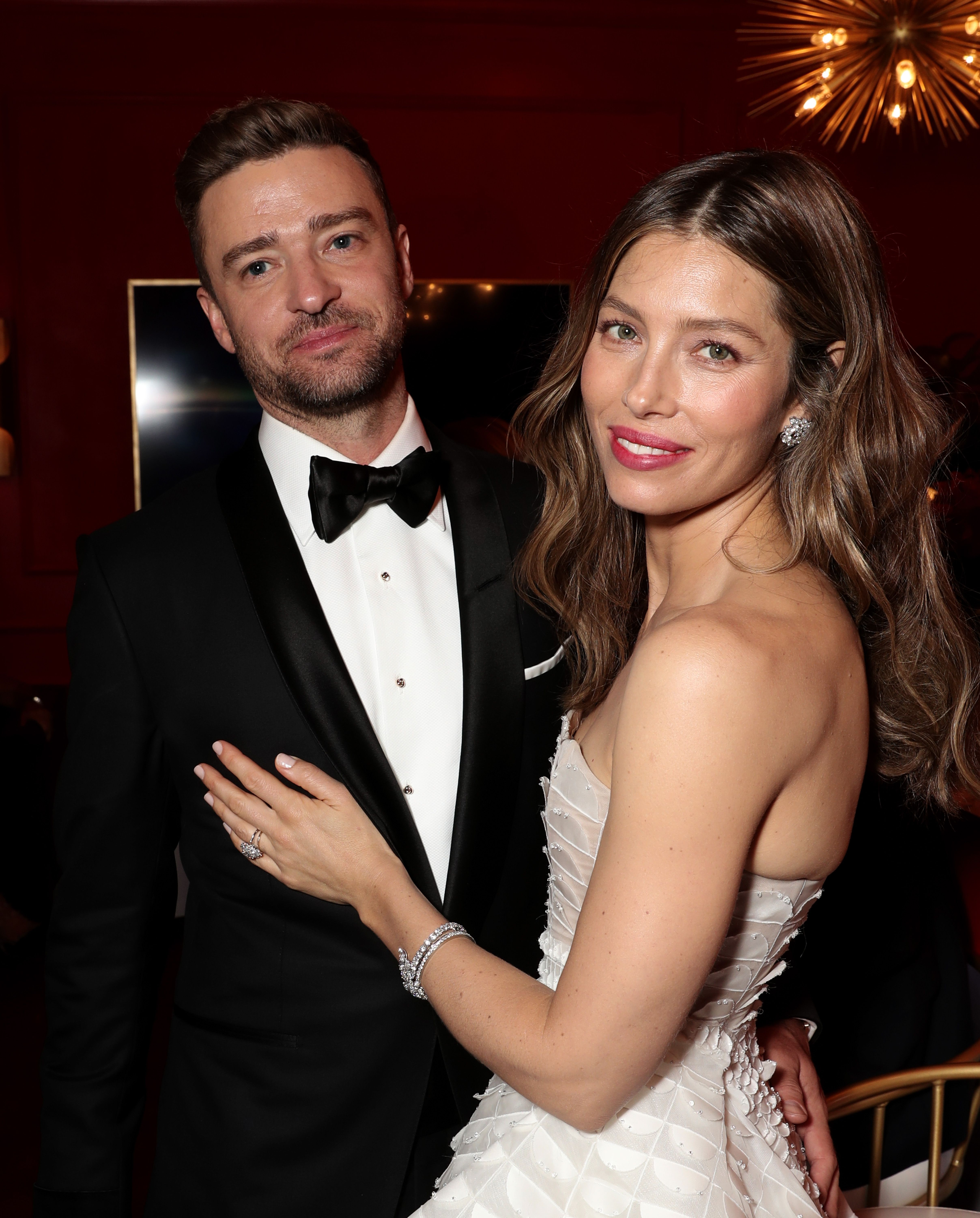 Justin Timberlake and Jessica Biel at the 70th Annual Primetime Emmy Awards on September 17, 2018   Photo: Getty Images