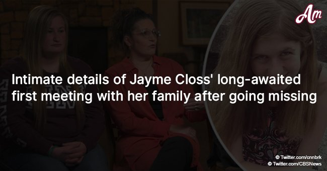 Intimate details of Jayme Closs' long-awaited first meeting with her family after going missing