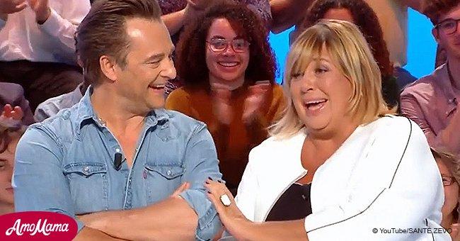 """David Hallyday réalise le grand rêve de Michèle Bernier en direct : """"Je suis impressionnée"""""""
