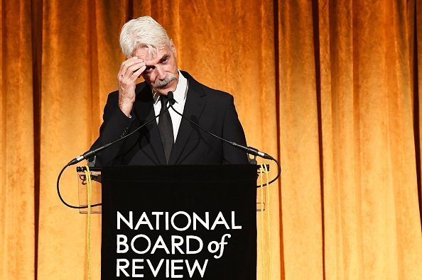 Sam Elliott Accepts the Best Supporting Actor award for A Star Is Born during The National Board of Review Annual Awards Gala on January 8, 2019 in New York City.| Photo: Getty Images.