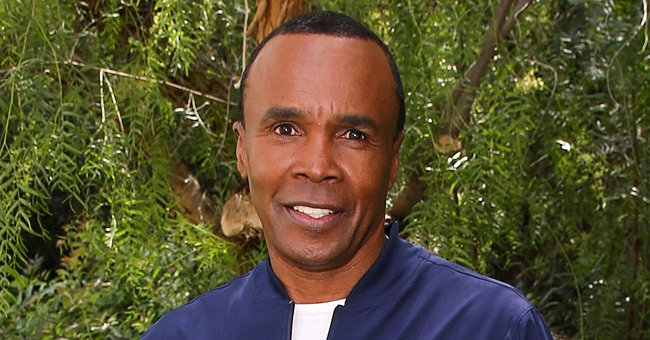 Boxing Legend Sugar Ray Leonard Enjoys a Family Bike Ride with His Wife and Daughter (Photo)