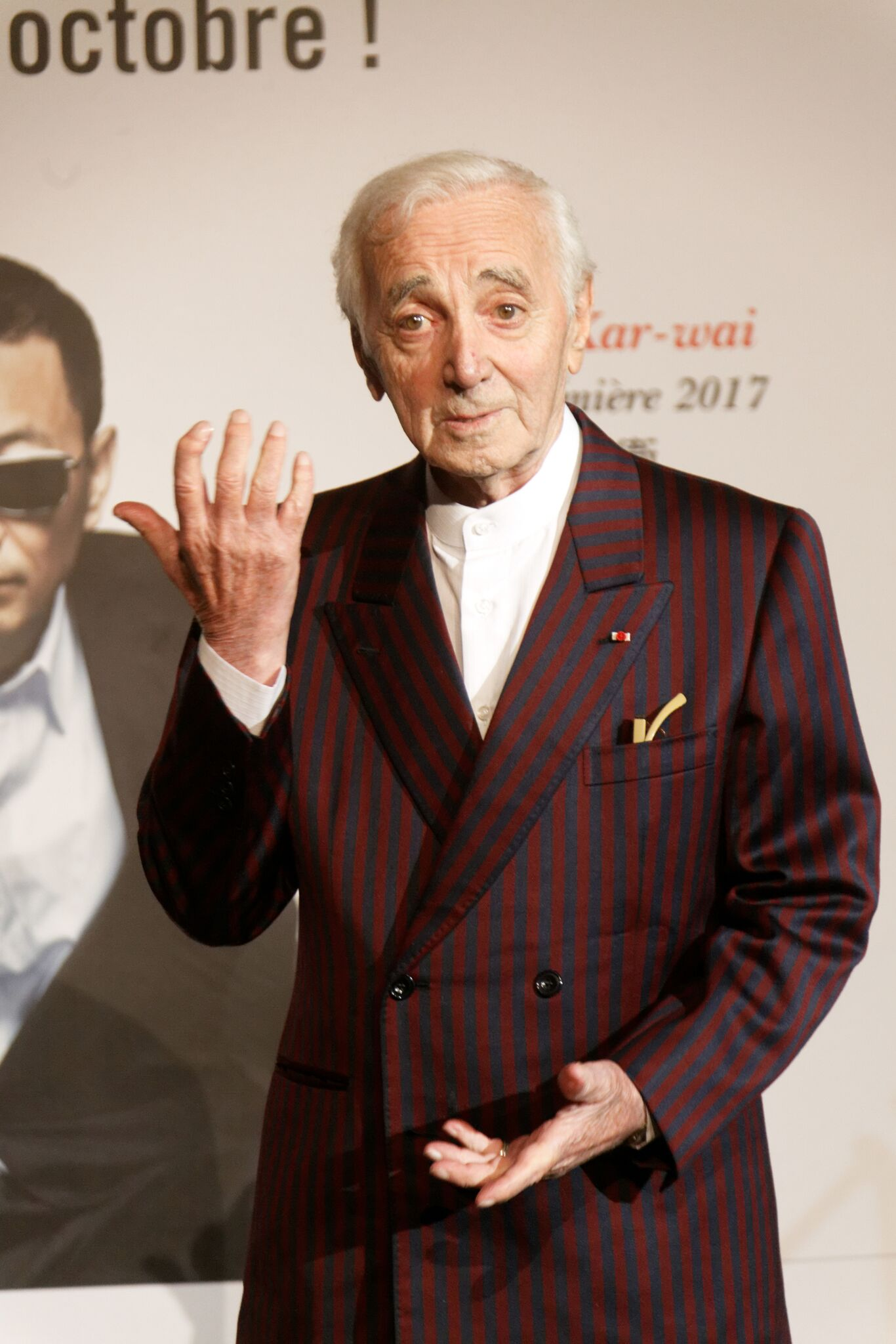 L'inimitable Charles Aznavour. l Source : Getty Images