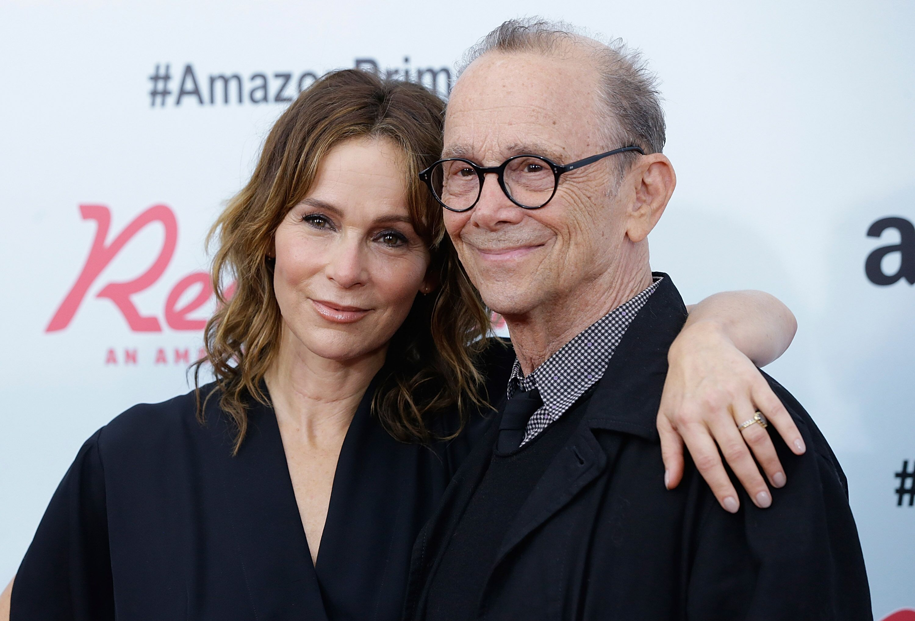 "Jennifer Grey and Joel Grey attend ""Red Oaks"" series premiere in 2015 in New York 