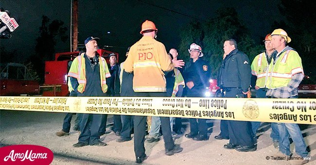 Boy, 13, found in a LA sewer pipe, 12 hours after disappearing