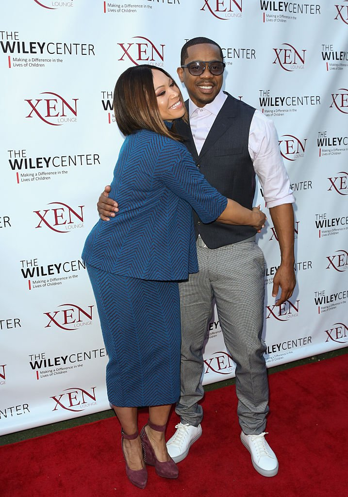 Tisha Campbell Martin (L) and Duane Martin (R) attend the benefit for children with autism at Xen Lounge on April 17, 2016 | Photo: Getty Images