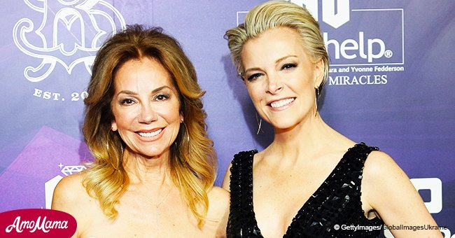 Megyn Kelly Dons a Black-And-Gold Sequin Dress and Reunites with Kathie Lee Gifford in a Rare Photo
