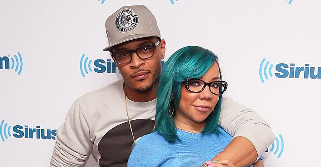 TI and Tiny's Daughter Heiress Harris Is All Cute Wearing Costume from 'Frozen' to Christmas Party