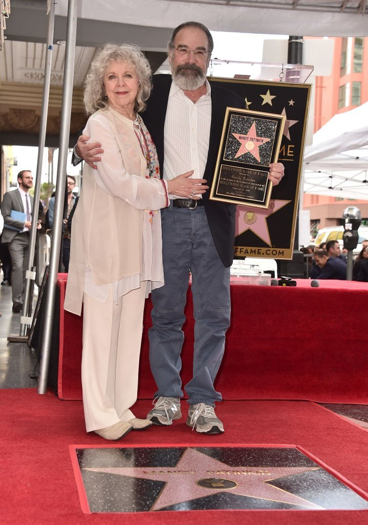 Kathryn Grody and Mandy Patinkin attend a ceremony honoring Mandy Patinkin with the 2,629th star on the Hollywood Walk of Fame | Getty Images