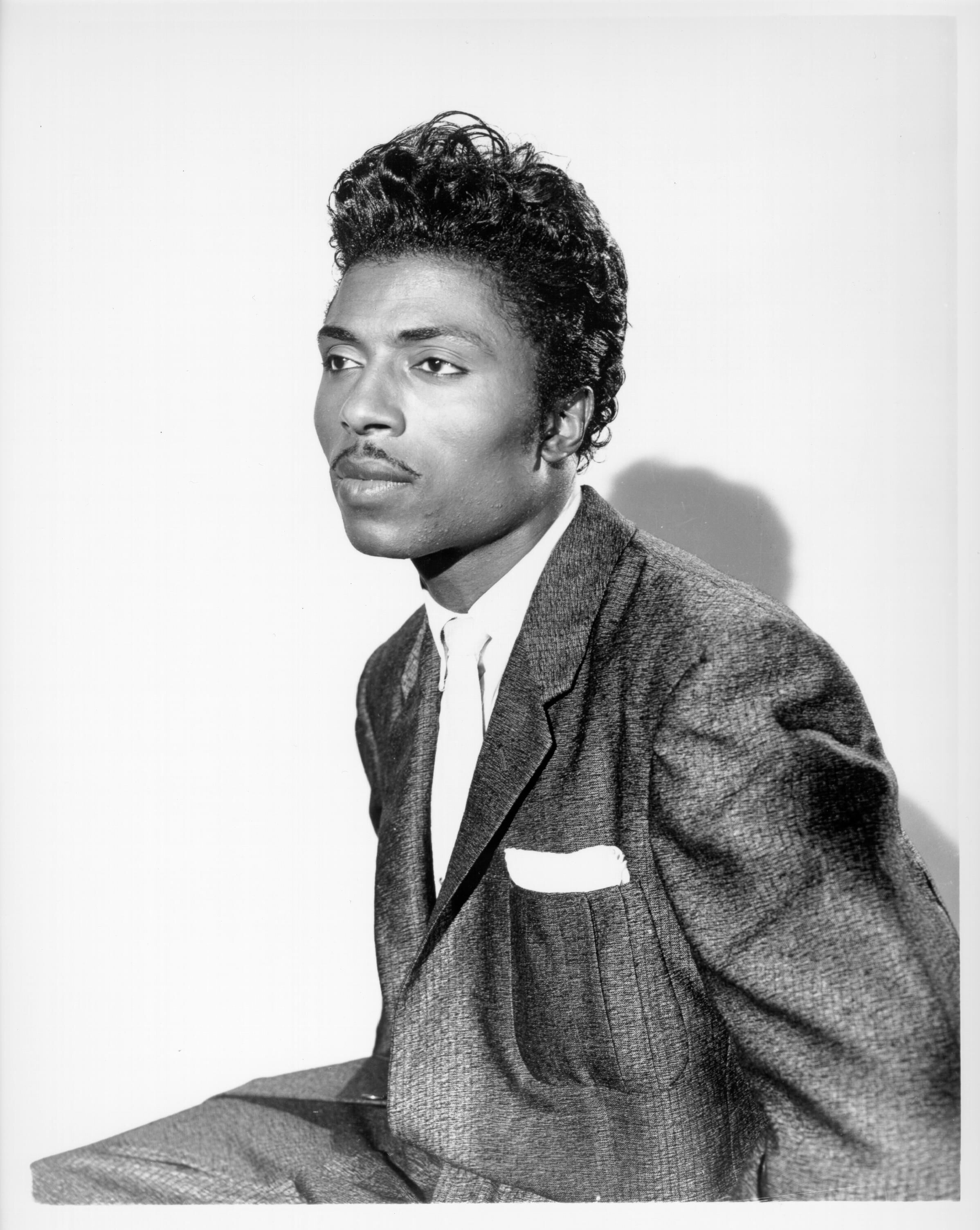 """Tutti Frutti"" and ""Long Tall Sally"" performer Little Richard posing for an official portrait in 1957 