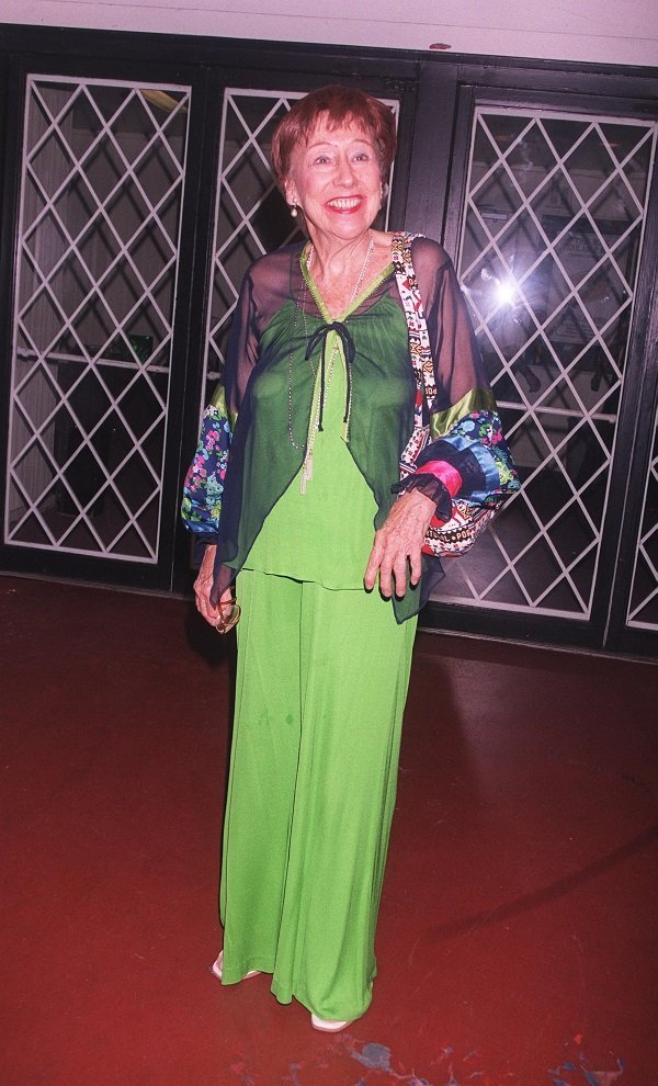Jean Stapleton on September 17, 2000 in Beverly Hills, CA. | Source: Getty Images