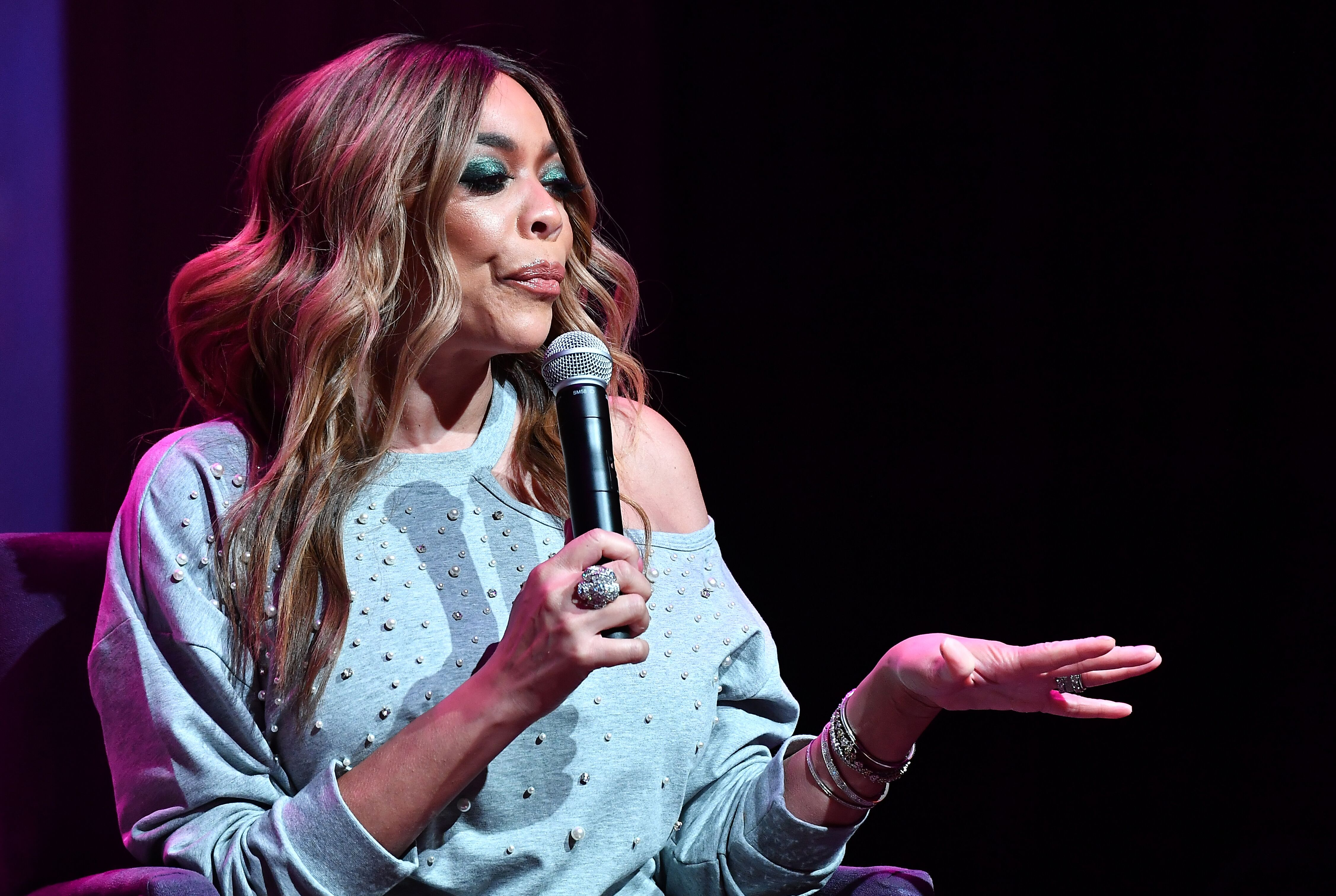 Wendy Williams giving a talk. | Source: Getty Images