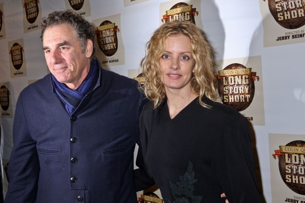 Michael Richards and Beth Skipp at Helen Hayes Theatre on November 9, 2010 | Photo: Getty Images